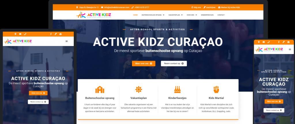 Ways Agency Portfolio Item Active Kids Curaçao